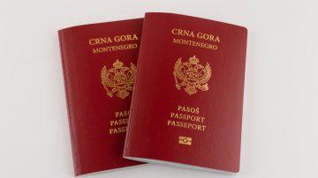 """جواز سفر مونتينيغرو """"الجبل الأسود"""""""